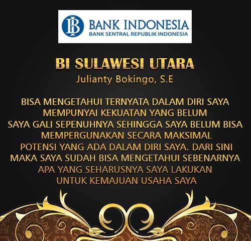 Testimoni BI Sulawesi Utara